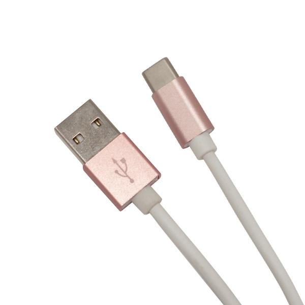 ラスタバナナRastaBanana[Type-C]充電・通信ケーブルアルミ1.2mRGR12CAAC2A01RGローズゴールド[1.2m]