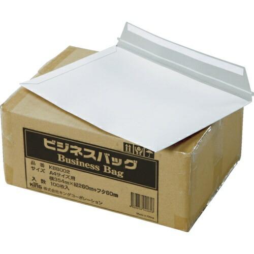 キングコーポレーションKINGCorporationキングコーポビジネスバッグA4サイズ用(354×260)(100枚入)