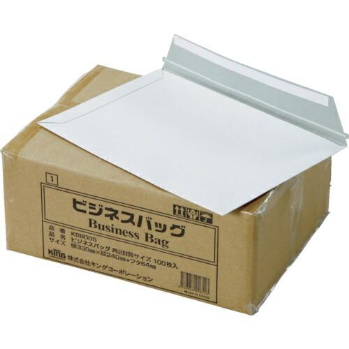 キングコーポレーションKINGCorporationキングコーポビジネスバック角2(330×240)(100枚入)