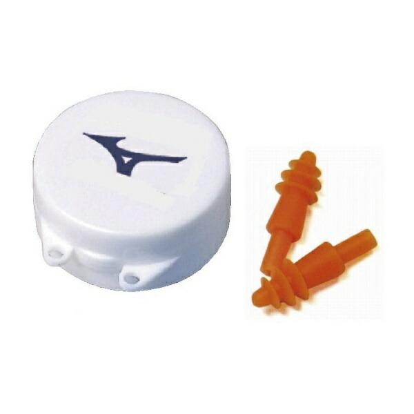 ミズノmizunoスイムアクセサリー耳栓(2個1セット/オレンジ)85ZE75054