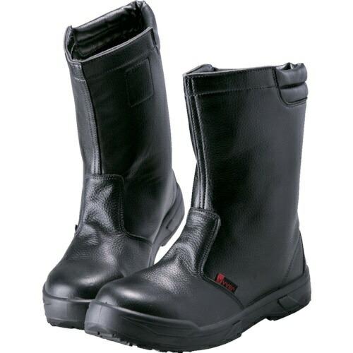 ノサックスNOSACKSノサックス耐滑ウレタン2層底静電作業靴半長靴23.5CM