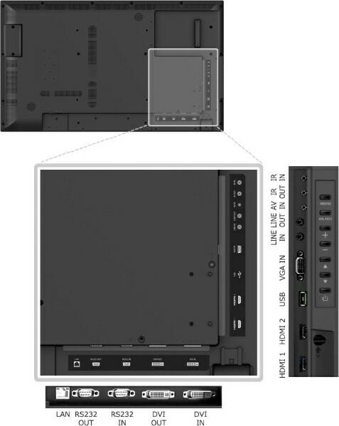 東芝TOSHIBAプロフェッショナルディスプレイTD-EシリーズブラックTD-E652[ワイド/フルHD(1920×1080)][TDE652]