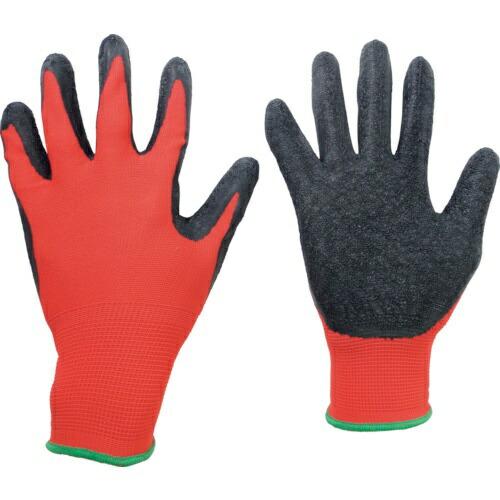 ミドリ安全MIDORIANZENミドリ安全ハイグリップ天然ゴム背抜き手袋MHG−130赤/黒M