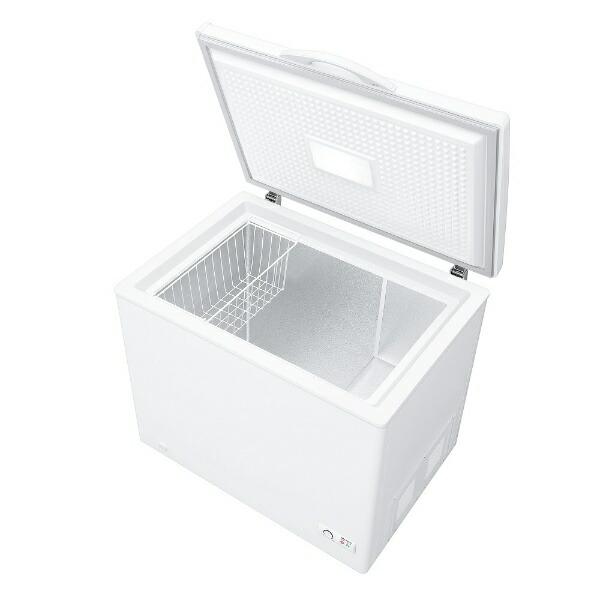 シャープSHARP《基本設置料金セット》冷凍庫ホワイト系FC-S20D-W[1ドア/上開き/200L]