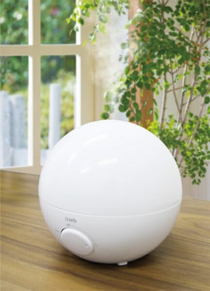 トップランドTOPLANDSH-RK80加湿器ORBホワイト[超音波式/500ml][SHRK80]【加湿器】