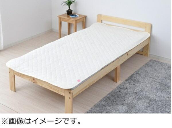 ヤマゼンYAMAZEN【敷パッド】消臭ソムリエシングルサイズ(100×205cm/アイボリー)
