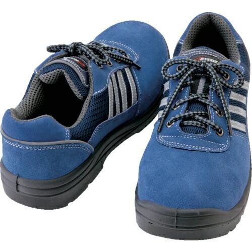 アイトスAITOZアイトスセーフティシューズ短靴ヒモタイプネイビー25.0cm