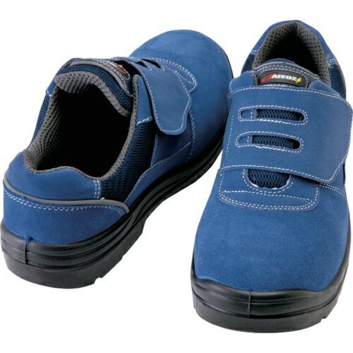 アイトスAITOZアイトスセーフティシューズ短靴マジックタイプネイビー24.0cm