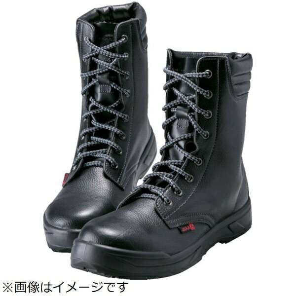 ノサックスNOSACKSノサックス耐滑ウレタン2層底静電作業靴長編上靴25.5CM