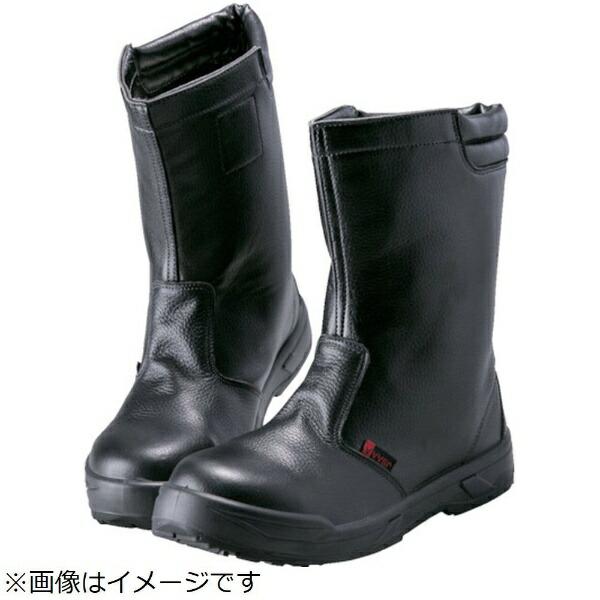 ノサックスNOSACKSノサックス耐滑ウレタン2層底静電作業靴半長靴24.5CM