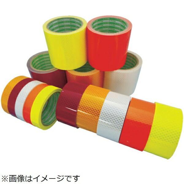日東エルマテリアルNittoLMaterials日東エルマテ高輝度プリズム反射テープ45mmX5Mレッド