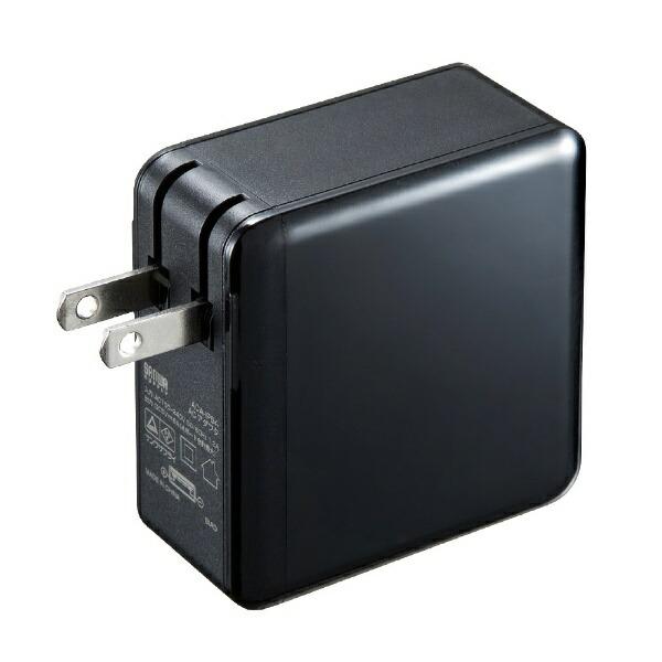 サンワサプライSANWASUPPLYスマホ用USB充電コンセントアダプタ(4ポート・合計6A)ACA-IP54BKブラック