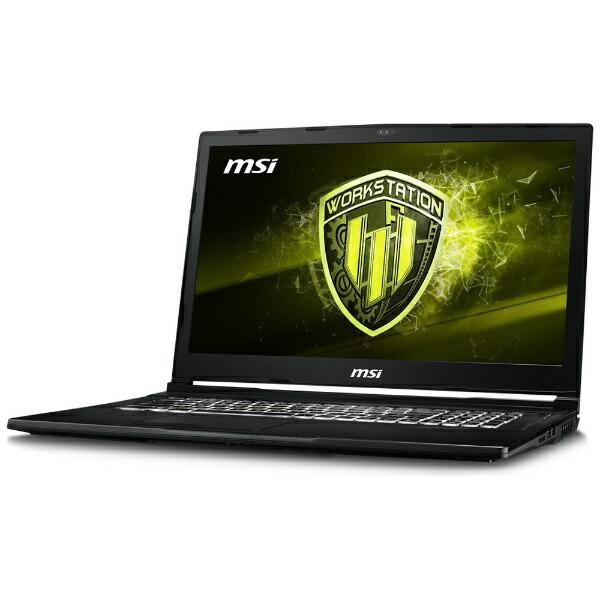 MSIエムエスアイWE738SJ270JPゲーミングノートパソコン[17.3型/intelCorei7/HDD:1TB/SSD:256GB/メモリ:16GB/2018年8月モデル][WE738SJ270JP]