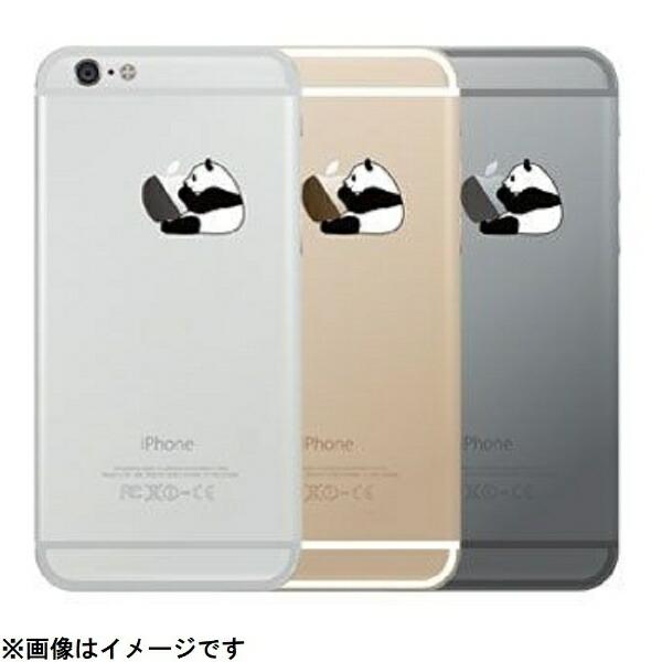 HAMEEハミィiPhone6sPlus/6Plus用Applus(アップラス)ハードクリアケース白黒パンダ