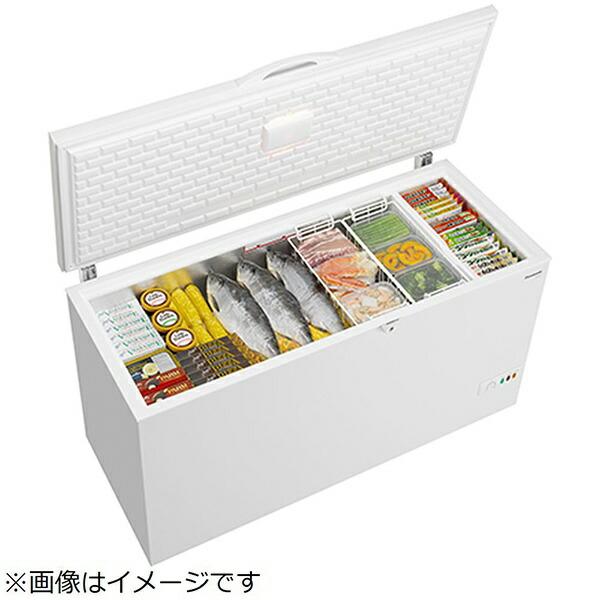 パナソニックPanasonic《基本設置料金セット》NR-FC46FB冷凍庫ホワイト[1ドア/上開き/463L][NRFC46FB]