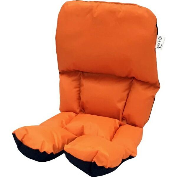LAKIAラキアチャイルドシート前後兼用クッション(オレンジ)228103
