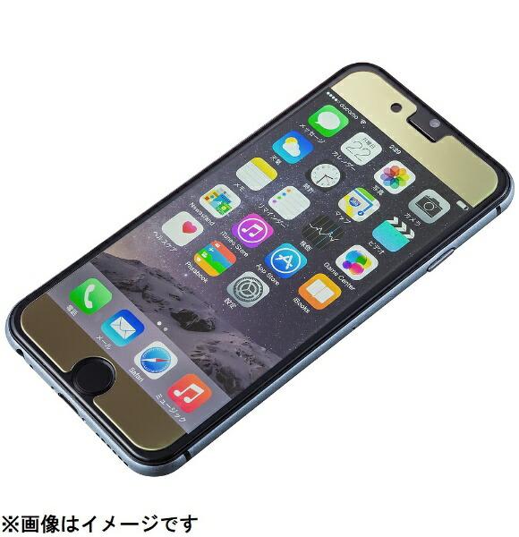 坂本ラヂヲiPhone6sPlus/6Plus用GRAMASFEMMEProtectionMirrorGlassFEXIP6PMGGold