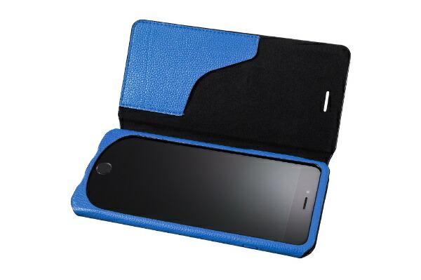 """坂本ラヂヲiPhone6sPlus/6Plus用GRAMASFEMMEBagTypePULeatherCase""""Sac""""FLC285PBLBlue"""
