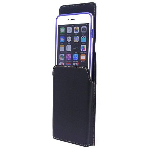 アスデックASDECiPhone6sPlus/6Plus用ベルトクリップホルダータテ型SH-IP7PVブラック