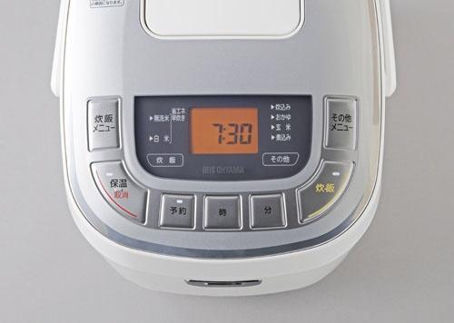 アイリスオーヤマIRISOHYAMAERC-MC50-W炊飯器米屋の旨みホワイト[5.5合/マイコン][ERCMC50W]