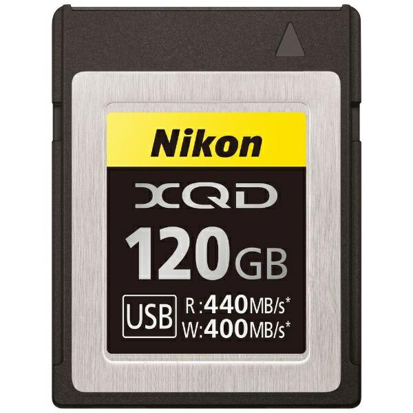 ニコンNikonXQDメモリーカードMC-XQ120G[120GB][MCXQ120G]