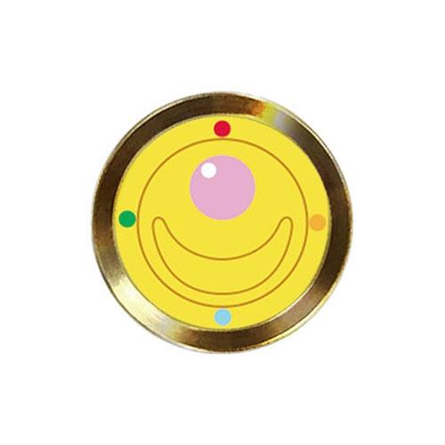 ハセプロHASEPROアルミボタンシール指紋認証対応セーラームーン