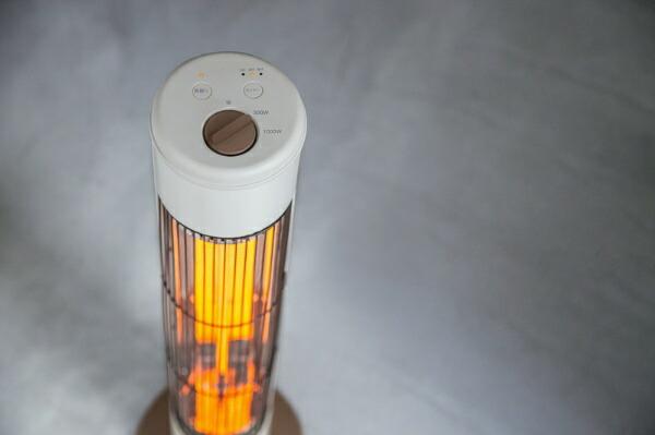 Three-upスリーアップCB-T1831電気ストーブNOPPO(ノッポ)アイボリー[カーボンヒーター/首振り機能][CBT1831]