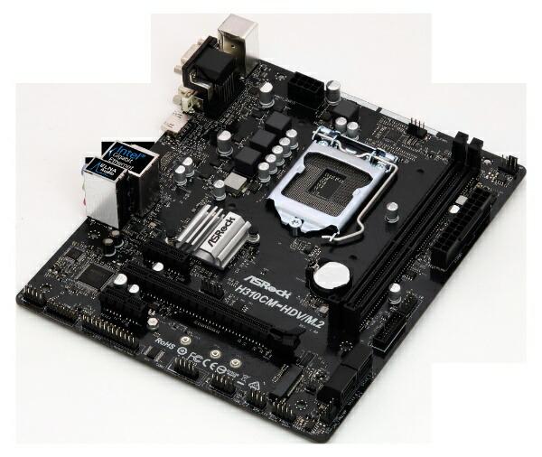 ASROCKアスロックASRockH310CM-HDV/M.2H310CM-HDV/M.2[MicroATX/LGA1151]