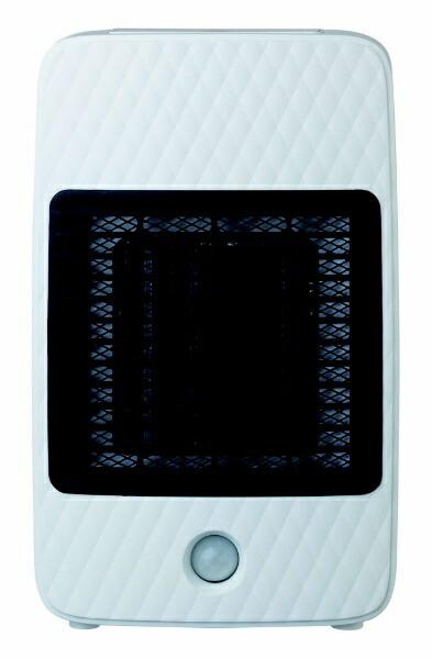 シィーネットC:NETCDCJ305WHセラミックファンヒーターホワイト[人感センサー付き][CDCJ305WH]