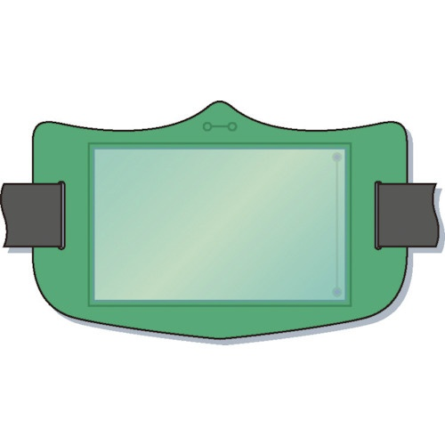 つくし工房TSUKUSHIKOBOつくしe腕章透明ポケット付き緑ショートゴムバンド付