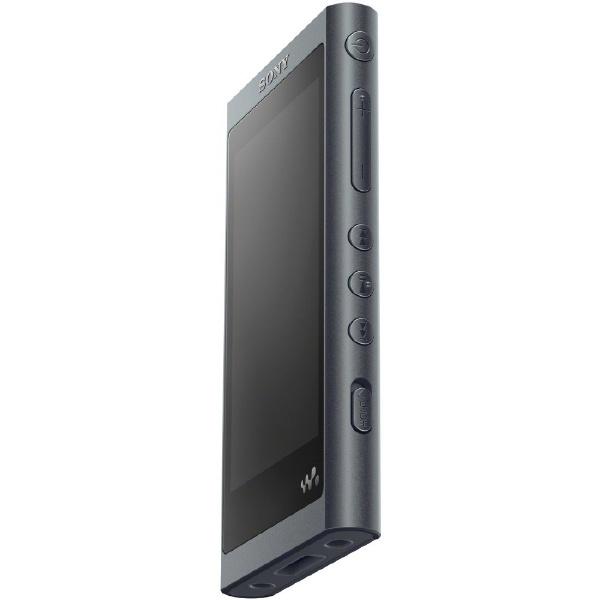 ソニーSONYウォークマンWALKMAN2018年モデルNW-A55BMAシリーズグレイッシュブラック[16GB/ハイレゾ対応][ウォークマン本体NWA55BM]
