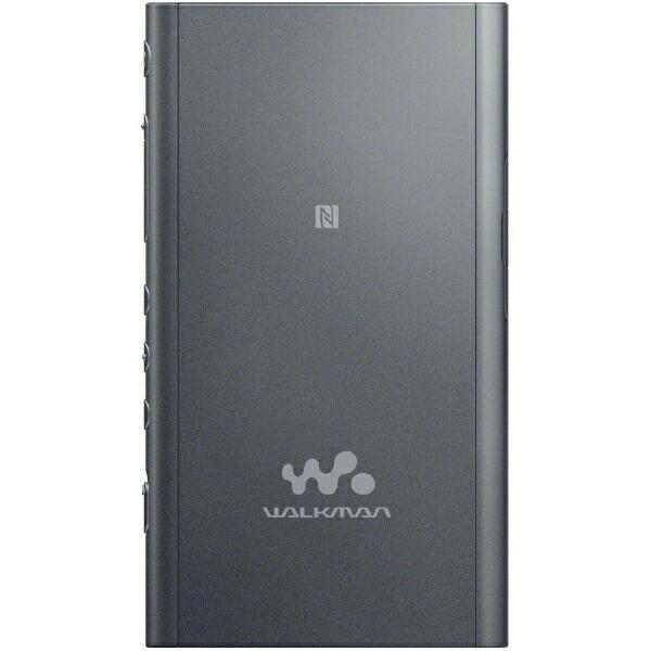 ソニーSONYハイレゾウォークマンWALKMANAシリーズ2018年モデル[イヤホンは付属していません]NW-A57BMグレイッシュブラック[64GB/ハイレゾ対応][NWA57BM]