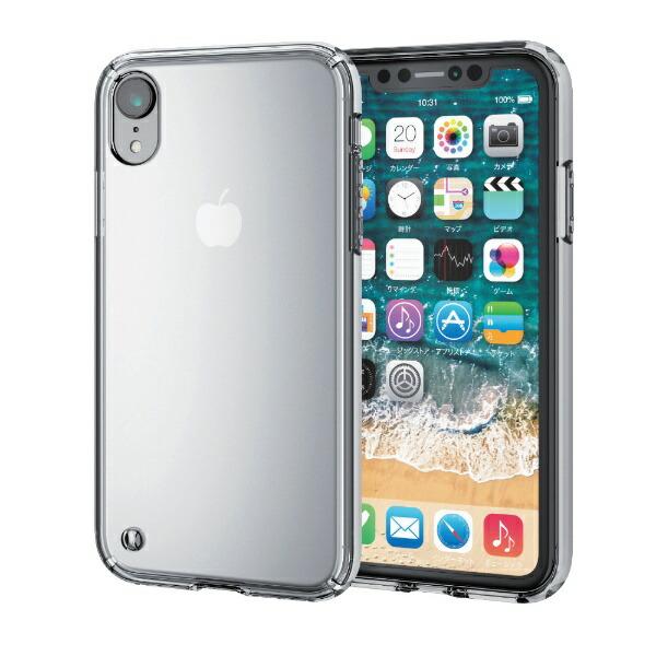 エレコムELECOMiPhoneXR6.1インチ用ハイブリッドケースPM-A18CHVCCR