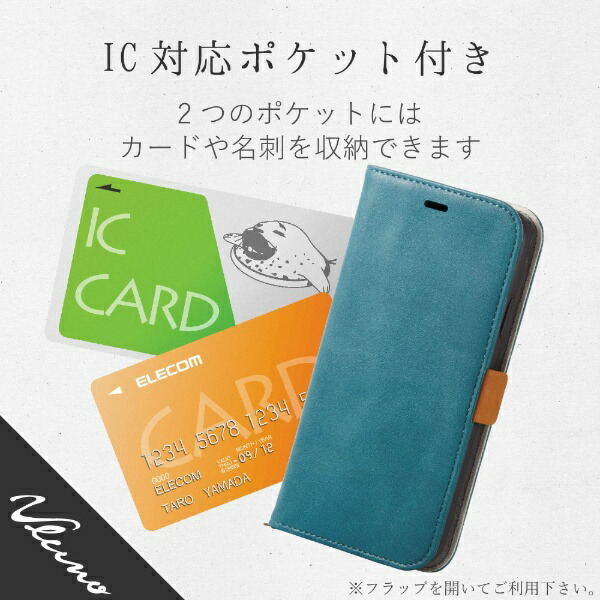 エレコムELECOMiPhoneXR6.1インチ用ソフトレザーカバー磁石付PM-A18CPLFYGNL