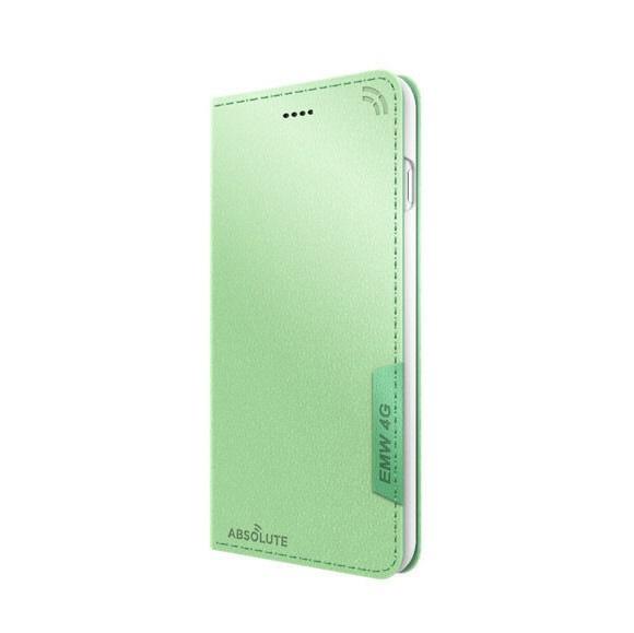 ABSOLUTETECHNOLOGYアブソルートiPhone6sPlus/6Plus用LINKBOOKPRO4Gシグナル拡張ケースATLBPIP6SPGRNマカロングリーン