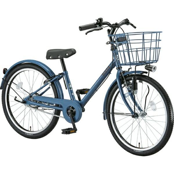 ブリヂストンBRIDGESTONE22型子供用自転車bikkej(ネイビーグレー×シングル/シングルシフト)BK22VJ【2019年モデル】【組立商品につき返品不可】【代金引換配送不可】