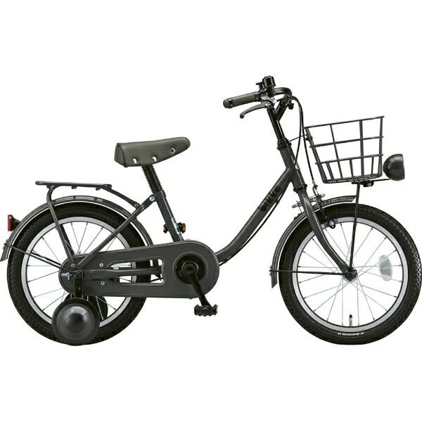 ブリヂストンBRIDGESTONE16型幼児用自転車bikkem(ダークグレー×シングル/シングルシフト)BK16UM【2019年モデル】[BK16UM]【組立商品つき返品不可】【代金引換配送不可】