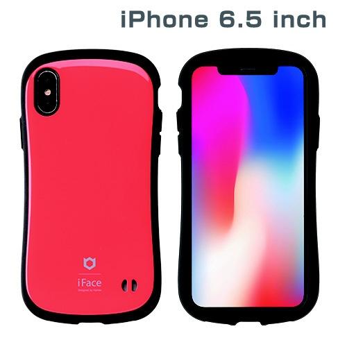 HAMEEハミィiPhoneXSMax6.5インチ専用iFaceFirstClassStandardケース(レッド)41-897027