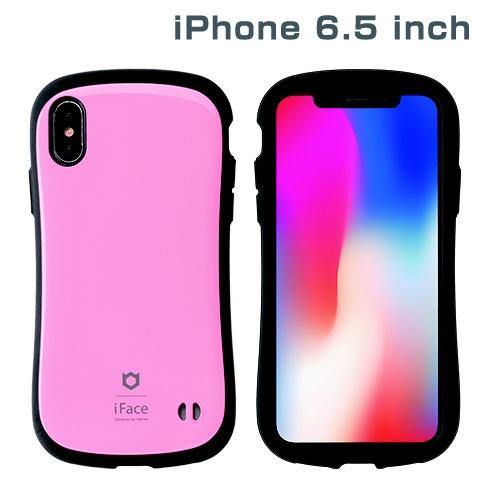 HAMEEハミィiPhoneXSMax6.5インチ専用iFaceFirstClassStandardケース(ベビーピンク)41-897041
