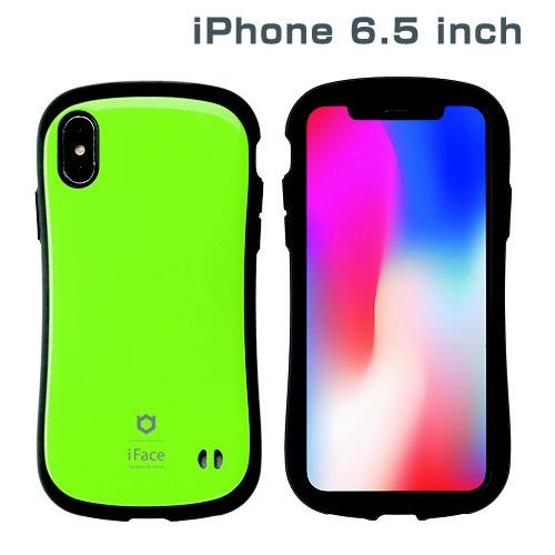 HAMEEハミィiPhoneXSMax6.5インチ専用iFaceFirstClassStandardケース(グリーン)41-897089