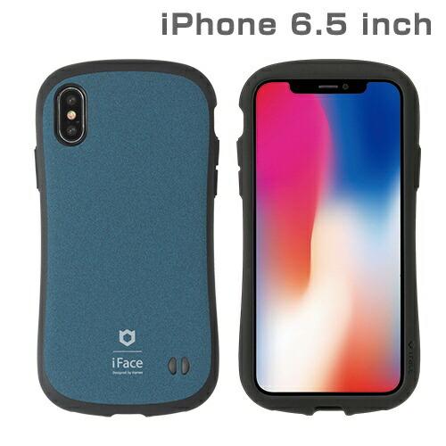 HAMEEハミィiPhoneXSMax6.5インチ専用iFaceFirstClassSenseケース(ブルー)41-897324