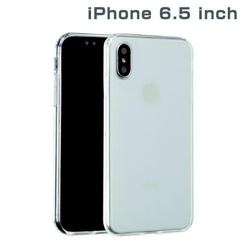 HAMEEハミィiPhoneXSMax6.5インチ専用サイドカラードクリアハイブリッドケース(クリア)276-897720