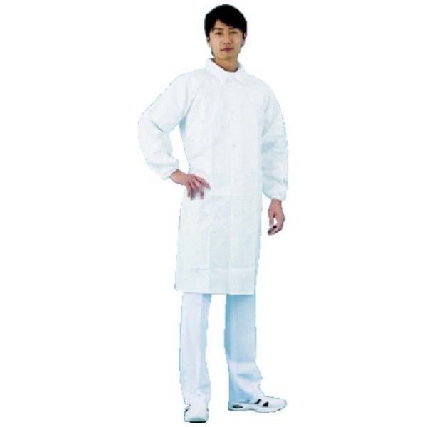 S.TDUPONTエス・テー・デュポンデュポン(TM)タイベック(R)製白衣袖口ゴム入3L
