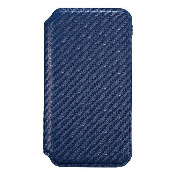 サンクレストSUNCRESTiPhoneXSMax6.5インチ用インチ用NEWTCATFLIPカーボンネイビー