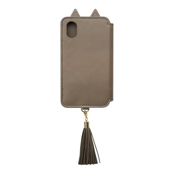 CCCフロンティアCCCFRONTIERiPhoneXS5.8インチ/iPhoneX用TasselTailCat