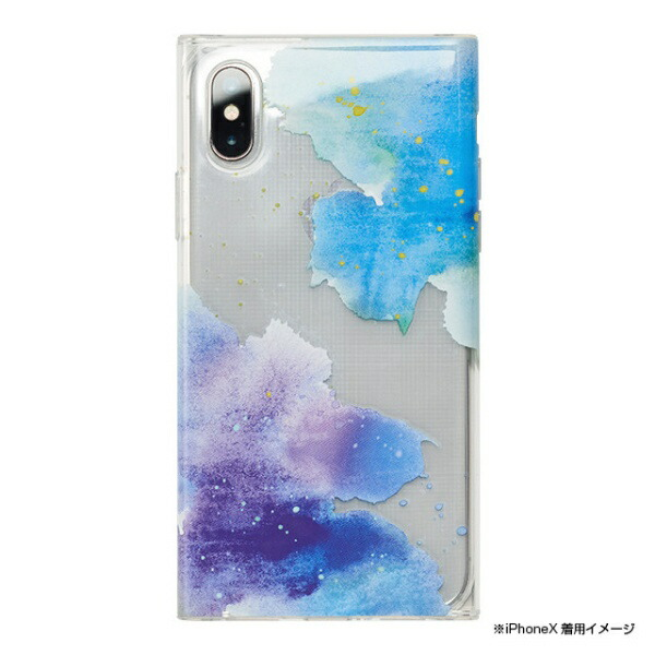 CCCフロンティアCCCFRONTIERiPhoneXS5.8インチ用LounaCollectionswatercolor
