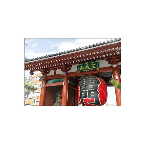 セキセイSEKISEIPKN-733パックンカバーノート高透明A5浅草寺雷門