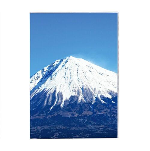 セキセイSEKISEIPKN-734パックンカバーノート高透明A5富士山冬