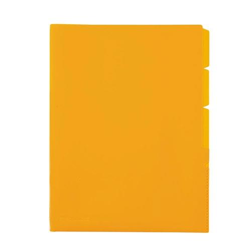 セキセイSEKISEI3インデックスホルダースローインサイズA4タテActif(アクティフ)オレンジACT-3935-51