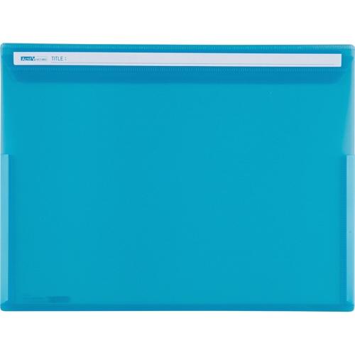 セキセイSEKISEIACT-5901アクティフVフリップファイルブルー